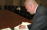 Signing the Wisconsin Roll of Attorneys at the Capital
