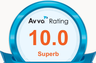 AVVO rating of 10 - Superb & Featured Attorney DUI/Criminal/Traffic