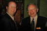Senator Joe Lieberman and attorney Ronald Bell