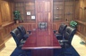 The conference room at the Law Offices of Wiley Nickel
