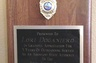 Sixth Judicial Circuit Badge and Plaque as former prosecutor 1990-1995
