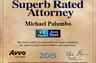 AVVO has rated me as one of their top speeding and traffic ticket attorneys.