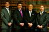 Drew Slagle, Ed Hitchcock, Raebern Hitchcock, and Gene Adkins