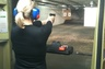 Working on my permit to carry with instructor from MPD.