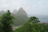 St. Lucia. --  Location where portions of the 1st Pirates of the Carribean was filmed.