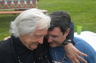 Me with Gerry Spence - Thunderhead Ranch, Wyoming 2011.