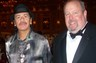 Carlos Santana and I at the American Immigration Council's Immigrant Achievement Awards in 2009.