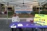Attorney booth at Uptown Altamonte Jazz Festival June 21013!