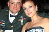 Breckan and her better half, Ryan, at a Military Ball.  Ryan has completed his service in the Army, and now assists Breckan in her practice.
