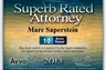 Superb Rated Attorney - Avvo Rated 10