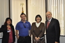 International Council of Central Florida China Guest with officers