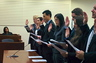 Oath of Office - Attorney Simmons Washington State Bar