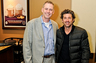Brad with the new owner of Tully's, Patrick Dempsey