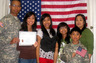 IMMIGRANT SOLDIER GAINS CITIZENSHIP
