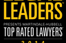 Martindale-Hubbell - Legal Leaders - Top Rated Lawyers 2014