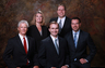 Albertson & Davidson, LLP, (from left) Thomas S. Huntington, Jennifer Fejzic, Keith A. Davidson, Kyle A. Patrick, and Stewart R. Albertson