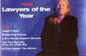 """To select their annual list of """"Lawyers of the Year"""", California Lawyer Magazine seeks the input of lawyers, legal organizations, news editors and reporters.  In 1998 this statewide publication chose to honor Lew Rosenblum as one the recipients."""