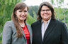 Left: Risa Davis, Managing Attorney