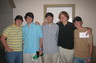 My son Luke second from right with friends at Colege at Mississippi State.