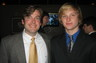 My son Luke to the right with his cousin and frat brother, Patrick Barnes