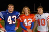 My son Wilson to the left Middile Linebacker at Madison Central big time high school 6A football.
