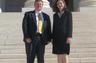 David Guin & Tammy Stokes of Guin Stokes & Evans, LLC after US Supreme Court appearance in Davis v. Dept. of Rev. of State of Kentucky