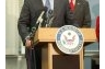 Speaking on the Fairness in Arbitration Act on Capitol Hill, December, 2007.