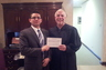 Supreme Court of Illinois Justice Robert R. Thomas and attorney David P. Gonet