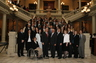 Alex with his classmates in the 2009 State Bar of Georgia Young Lawyer's Division Leadership Academy with Governor Sonny Perdue and State House Judiciary Committee Chairman Wendell Willard at the Georgia State Capitol.