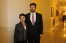 Alex with Georgia Supreme Court Chief Justice Carol Hunstein - May 2012
