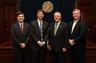 John Hadden, Michael Warshauer, Georgia Governor Nathan Deal, and Micah Gravley
