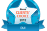 AVVO, a major professional services rating service, has named Mr. Head to its Top 3 categories of ratings for 2012.