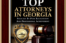 Top Attorneys in GA - March 2013 - Atlanta Magazine publication