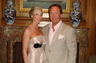 My wife Meredith and I at our wedding in Amelia Island, Florida.