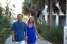 Merrida & Tara in Florida. I was attending continuing legal education classes.