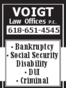 Madison County Social Security Lawyers Thomas Matthew Voigt
