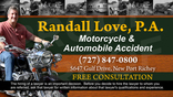 Tarpon Springs Car / Auto Accident Lawyer Randall Jay Love