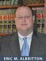 Texas Copyright Infringement Attorney Eric Miller Albritton