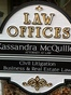 Tehachapi Personal Injury Lawyer Kassandra Denice Mcquillen