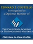 California Arbitration Lawyer Edward J Costello Jr