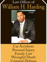 Charleston Car / Auto Accident Lawyer William H Harding
