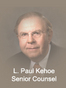 Rochester Mediation Attorney Leo Paul Kehoe