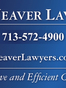 Houston Business Attorney Richard Daniel Weaver II